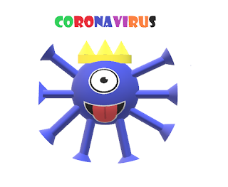"1C ""Antivirus Covid 19 vattene altrove"""